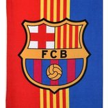 Полотенце Фк Барселона с логотипом любимого футбольного клуба