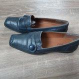 Туфли макасины кожаные р.41