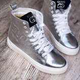 Женские зимние ботинки Gucci