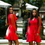 Платье ткань модуль , сетка сваровски