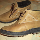 Ботинки зимние, на меху, натур.кожа, р.43