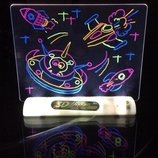 Магическая Доска для рисования 3D космос