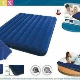 Надувной матрас Intex 68765 2 подушки и насос