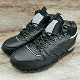 Мужские кожаные зимние кроссовки Reebok Classic
