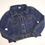 Джинсовый пиджак George 1-1.5 года бу