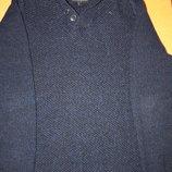 Мужской теплый ф.NEXT свитер р-L,52/54 в отличном состоянии