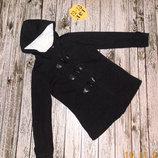 Демисезонное фирменное пальто для девочки 12-13 лет, 152-158 см