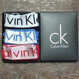 Набор мужских трусов Calvin Klein 3 шт в коробке