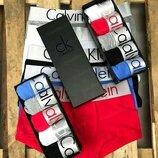 Набор из 5 трусов Calvin Klein в коробке