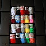 Женский набор 5 трусов Calvin Klein шортики
