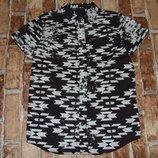 рубашка котон лето 9-10лет Ребел большой выбор одежды 1-16лет