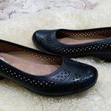 K туфли кожа 39 р по ст 25.5 см ширина 9 см танкетка 3.5 см