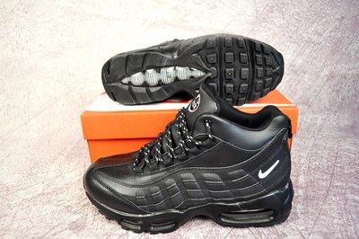 d60ffe56 Зимние высокие кроссовки Nike Air Max 95 black: 1250 грн - мужские ...