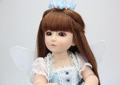 Реалистичная BJD кукла Reborn. Винил. Высота 45 см. Ручной работы.