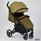 Джой 688 коляска детская прогулка с облегченной рамой Joy
