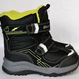 Зимние ботинки для мальчиков, термоботинки BIKI