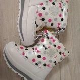 Зимние сапожки Томм для девочки