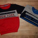 Теплі кофтинки для хлопчика Нью-Йорк