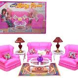 Кукольная мебель Gloria Глория 9704 Гостиная