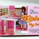 Детская мебель для кукол Gloria 94016 Кухня
