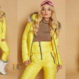 Зимний лыжный костюм из плащевой водоотталкивающей ткани,ПОД Заказ