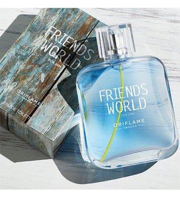 Туалетная вода friends world for him фрэндс ворлд фо хим орифлейм 75 мл код 33384