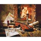 Картина по номерам Волшебная музыка скрипки KHO2509