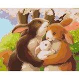Картина по номерам Счастливая семья KHO2426