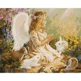 Картина по номерам Ангел KHO2306