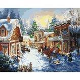 Картина по номерам Накануне рождества KHO2247