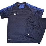 Футбольная форма игровая Nike цвет-синий