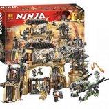 Конструктор Bela 10940 Ninjago Ниндзяго Ninja Ниндзя Пещера драконов аналог Lego Ninjago 70655