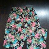 Размер 8-10,10 Обалденные фирменные натуральные летние штаны
