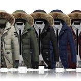 Куртка-Пуховик парка мужская зимняя AFS JEEP Оригинал, цена снижена