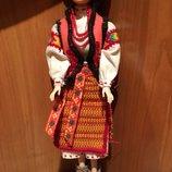 Кукла в национальной гуцульской одежде ручная работа