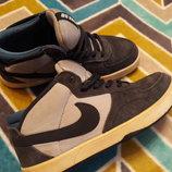 Крутые кроссовки замш от Nike SB, размер 38 маломерят на 36,5-37