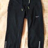 Спортивные штаны бриджи фирменные Nike р.44-46 XS
