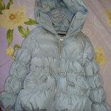 Мега классна зимняя куртка - пуховик. ZARA GIRLS. Зара.