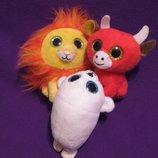 Тюлень.лев.бык.корова.мягкая игрушка.мягкие игрушки.мягка іграшка.McDonald's