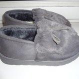 Классные стильные меховые угги- мокасины, туфли зима