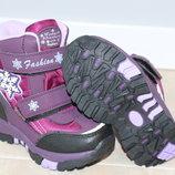 Термо ботинки зимние на девочку Tom m