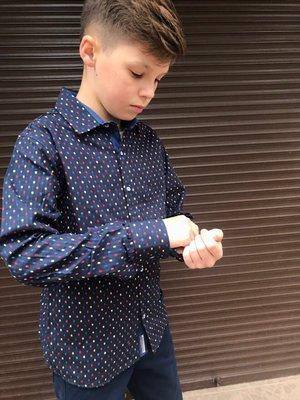 Рубашка для мальчика Тм A-Yugi Jeans