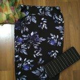 Шикарная юбка карандаш в цветочек George