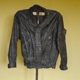 Куртка шкіряна на 64-66 розмір