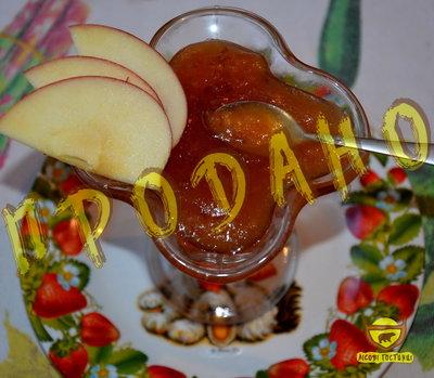 Яблучне домашнє варення. Яблочное варенье.