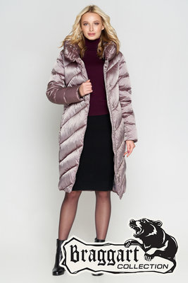 Braggart Angels Fluff теплая зимняя женская куртка 30952 цвета