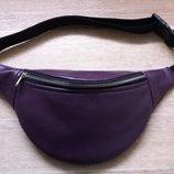 Поясная сумка, бананка, сумка на пояс Фиолет