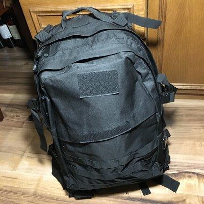 Bulat 35 L рюкзак тактический-туристический городской чёрный