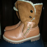 Зимние ботинки 37 разм.