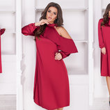 Вечернее шелковое платье, Размеры 42-44, 44-46,48-50, 52-54, 56-58